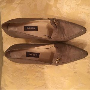 Bally Celine heel with suede insert size 8
